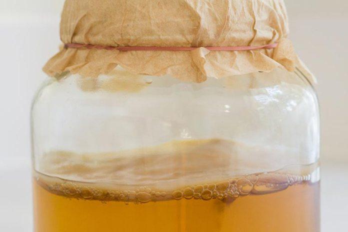 Sugar in bottled kombucha destroys its properties.
