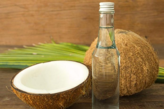 Coconut oil is rich in fatty acids