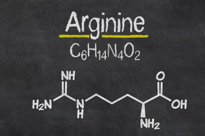 Arginine is found in most protein sources.