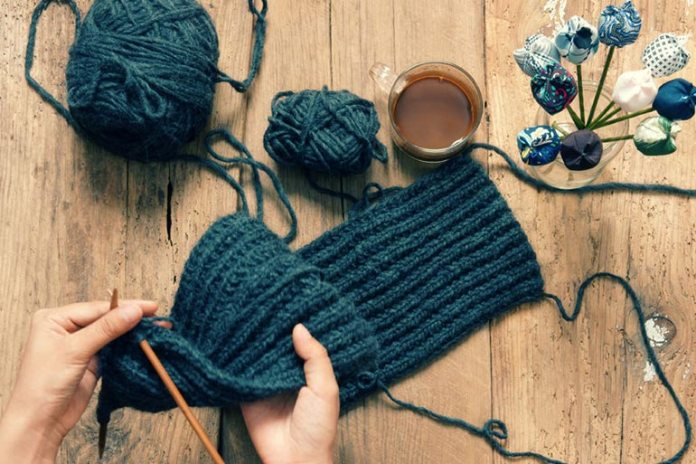 Knitting will keep you engaged at your old age