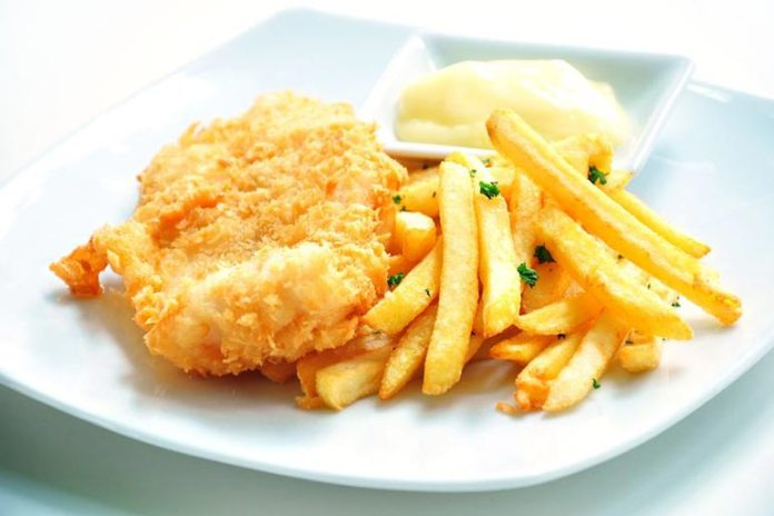 Fried foods lead to inflammation that leads to acne