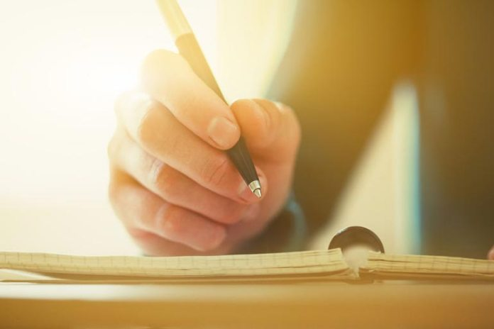 Writing engages the brain in a very complex way