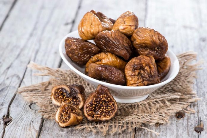 dried figs are high in calcium, fiber, and antioxidants