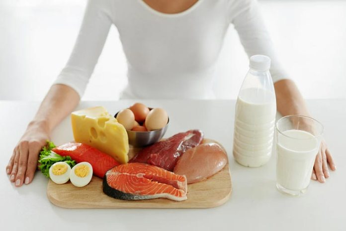 Meat and dairy products increase your amino acid content and estrogen