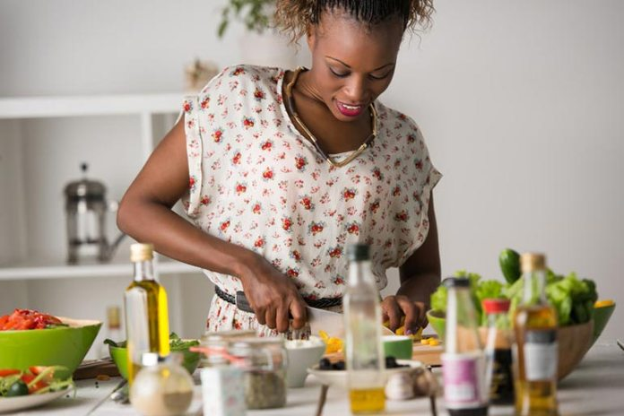 Cooking and trying out new recipes stimulates the brain
