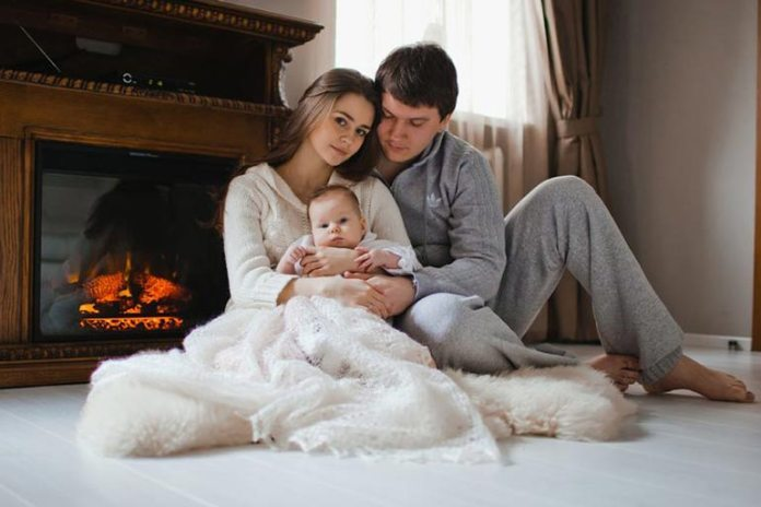 Parents learn the art of patience when being with the baby