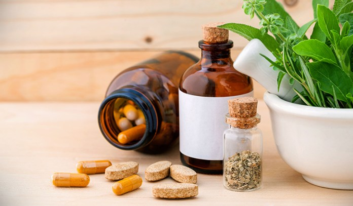 Try including herbal and natural supplements into your diet
