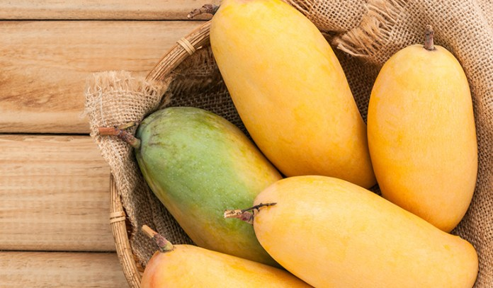 Mangoes are filled with fructose and natural energy