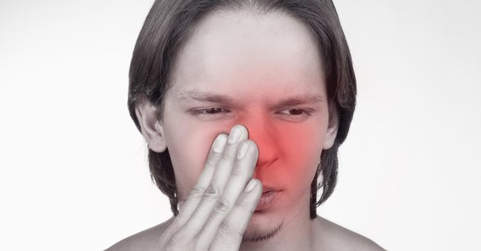 Most of the time, sores on the inside of your nose may typically start as small pimples or blisters, and after a while, they may rupture and form small scabs)