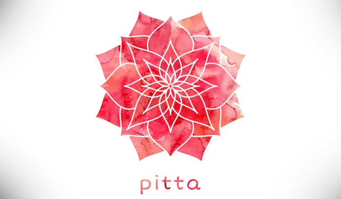 Pitta dosha is associated with the element fire