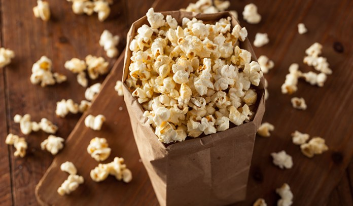 A healthy whole grain snack loaded with fiber and protein