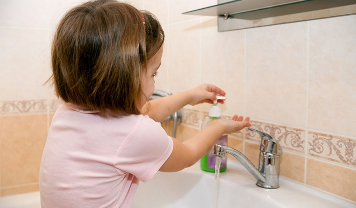 importance of hand hygiene in childhood