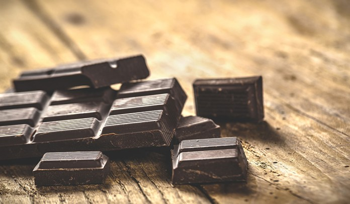 Dark chocolate with more than 72% cocoa content is a great antioxidant