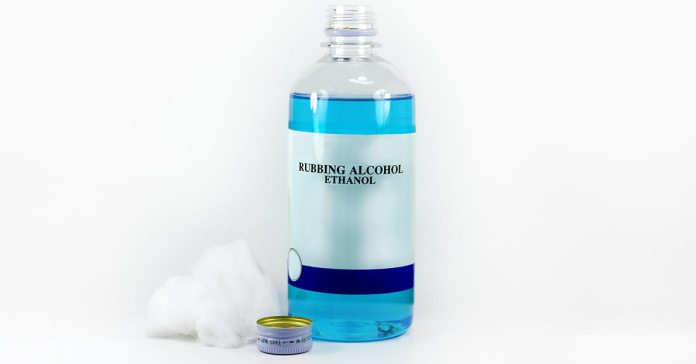 Rubbing alcohol is an effective remedy for cleaning and healthy living purposes