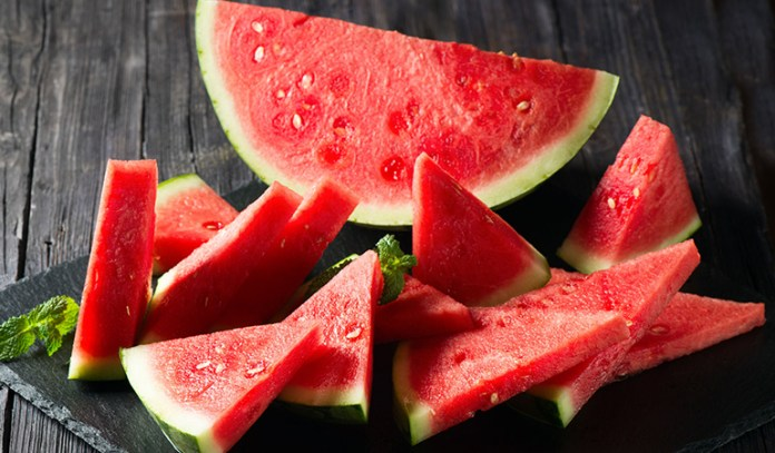 Watermelons are rich in lycopene, an antioxidant