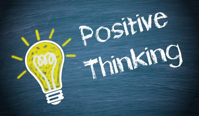 By thinking positive, you can prevent stress and demotivation from affecting your life
