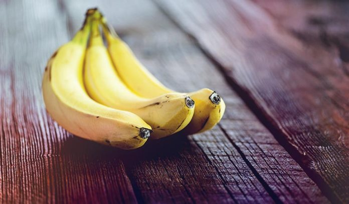 Brown spots on bananas mean they're sweet