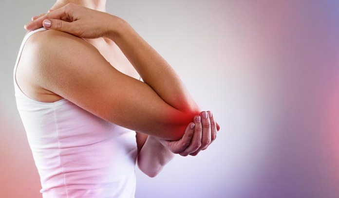 Massage over your joints along with a carrier oil