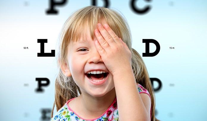 20/30 vision in children