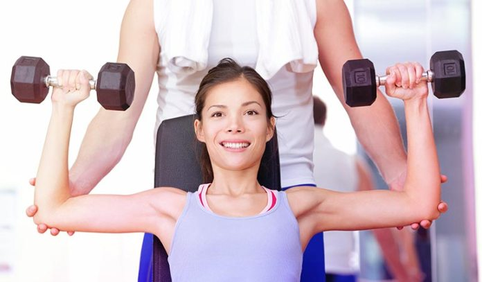 (Weight lifting and stretching help in building bone mass and improve posture.