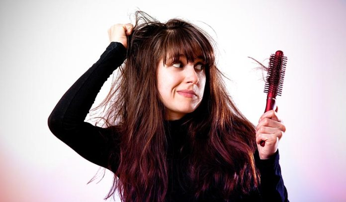 While dandruff can cause hair fall, hair loss might be due to other factors too.)