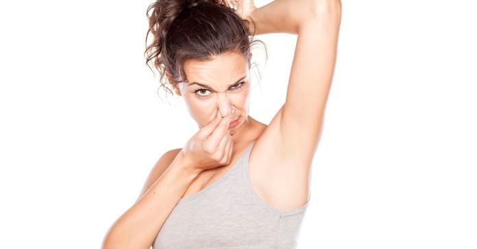 Ways to eliminate armpit odor.