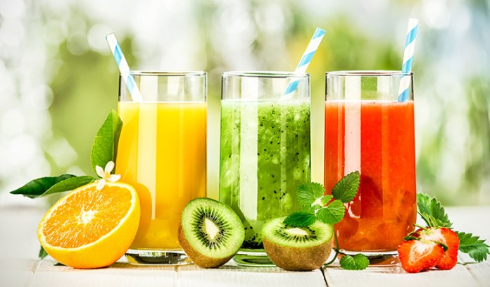 Natural juices lack in fiber and can lead to blood sugar spikes, and are, therefore, not recommended for diabetics.