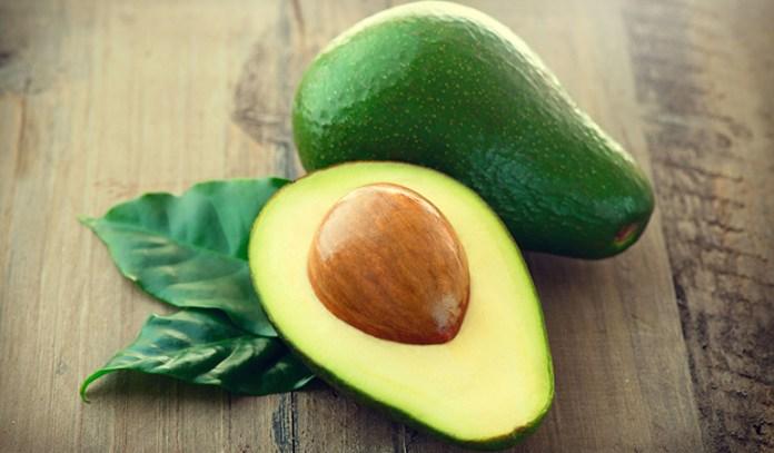 Avocado has vitamin E which keeps hair healthy.