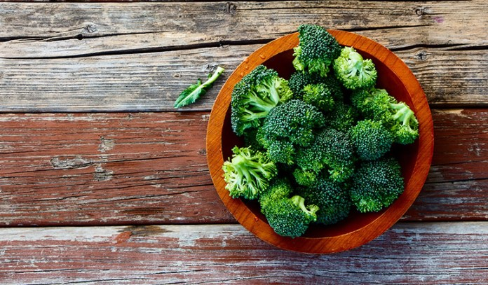 Broccoli stops the process of cancer development.