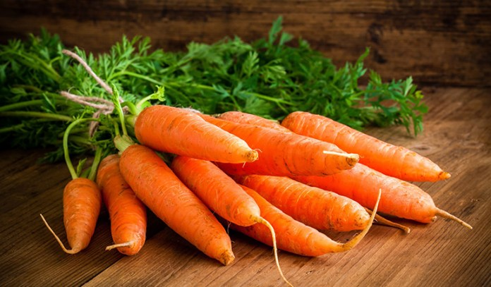 Carrots are rich in beta carotene which fights cancer.