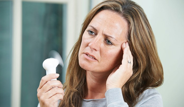 Chronic stress doesn't necessarily mean menopause.