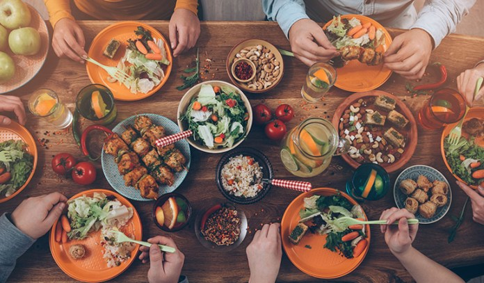 multiple meals increase metabolism