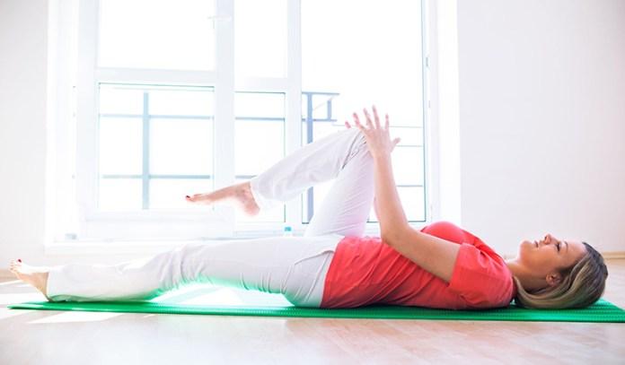 Floor Hip Flexor Stretch