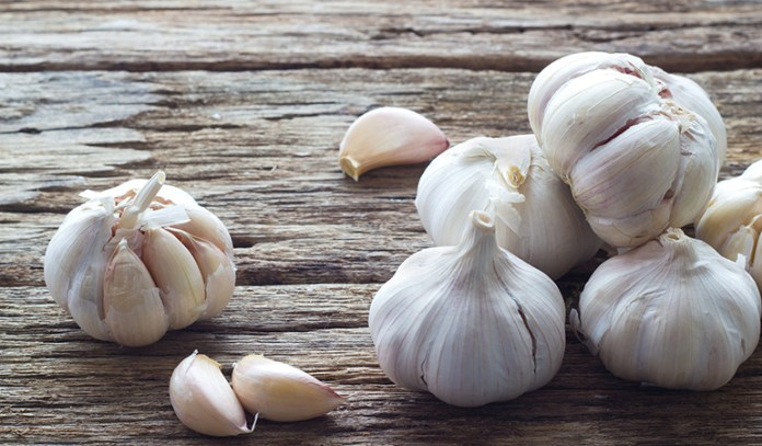 Garlic contains allicin, a compound that has magical flu-fighting antimicrobial properties.