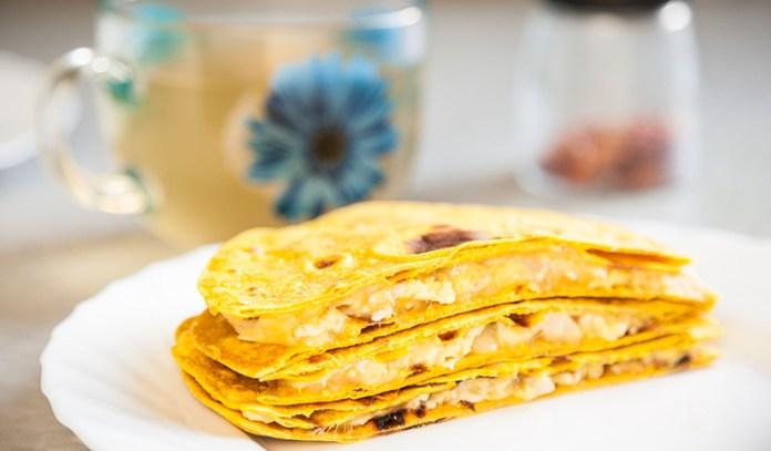 Quesadilla is a healthy breakfast option that helps improve brain health