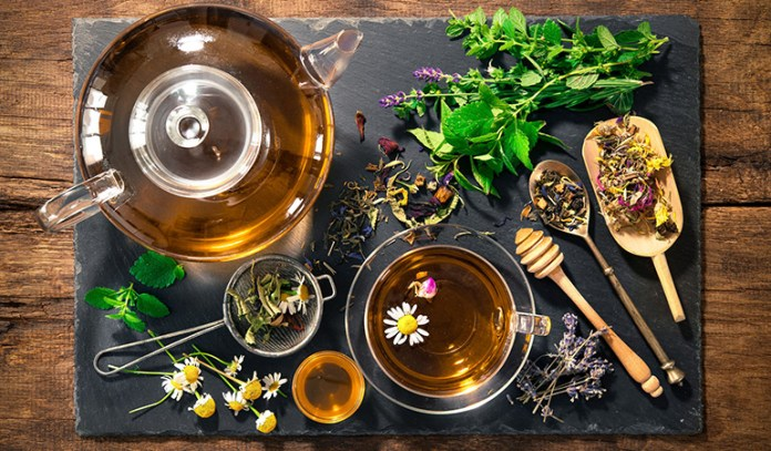Simply add the herbs in hot water, let it sit, drain the herbs and enjoy
