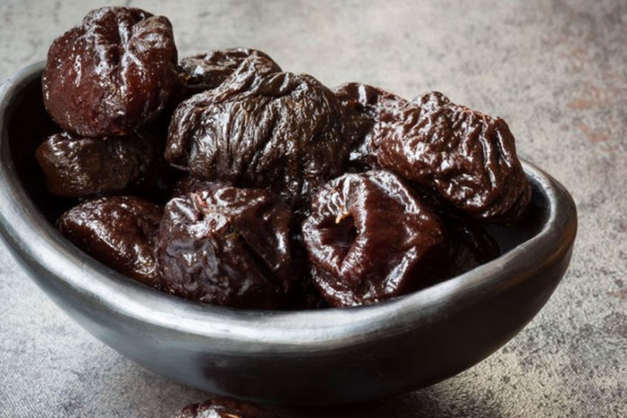 Prunes with their high fiber and sorbital content are great natural laxatives