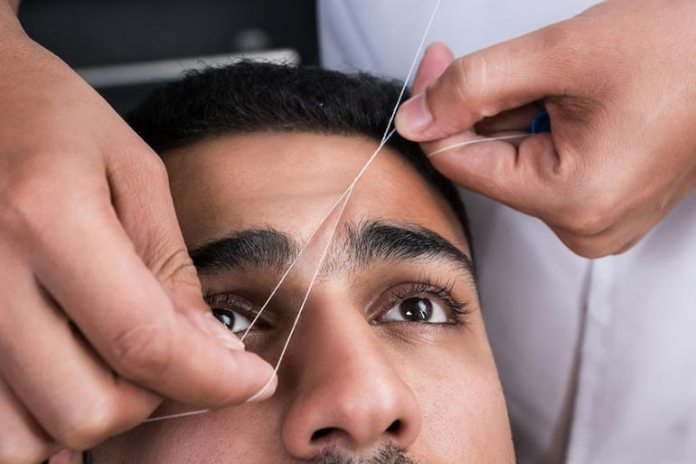 Threading can cause pimples on eyebrows