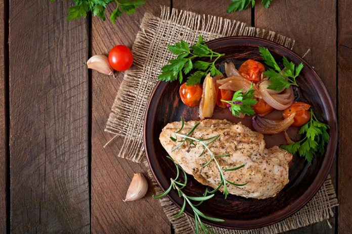 Chicken Breasts Are Lean White Meat