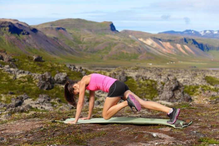 mountain climber exercise for strong butt