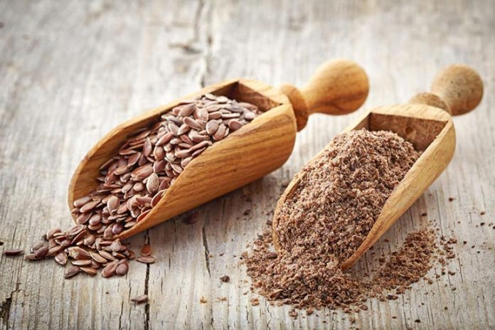 Crushed flaxseed powder helps in boosting the immune system