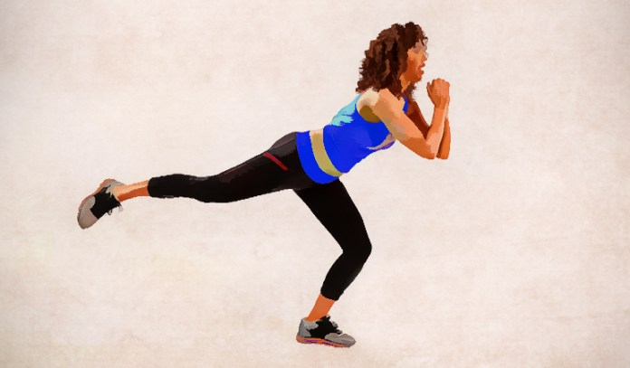 Kick back squats strengthen your glutes and reduce cellulite.