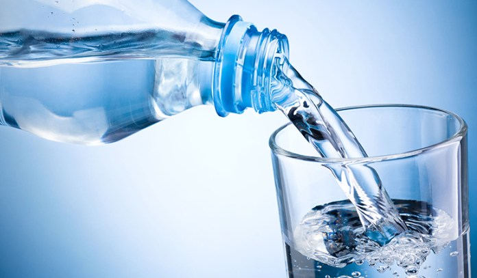 Drink sparkling mineral water that contains magnesium.