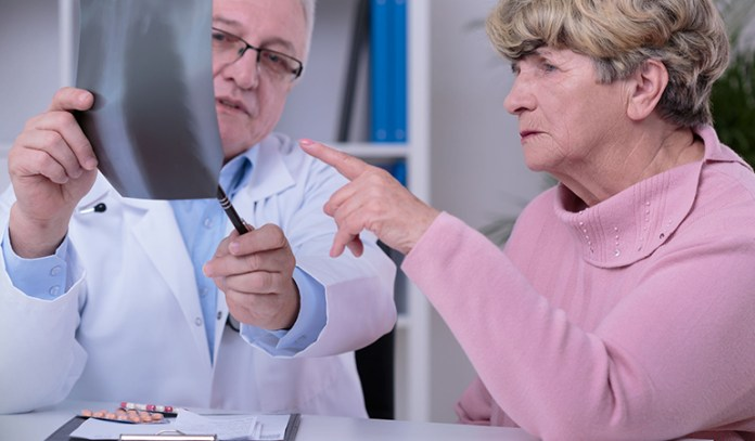 Lung cancer may not show symptoms until it is too late