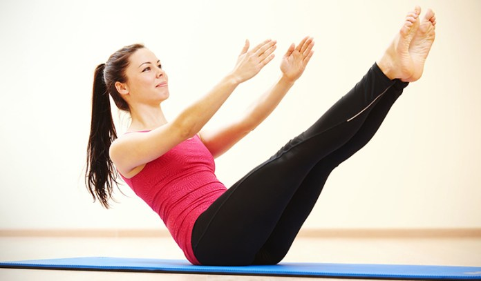 Pilates exercises don't improve body composition