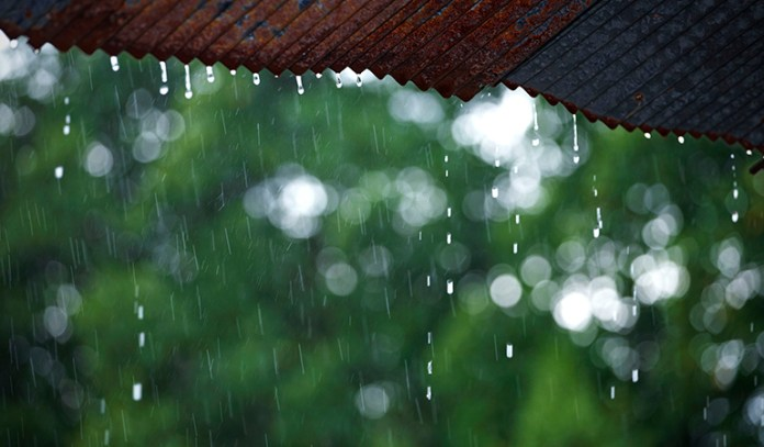 Pollutant-ridden fumes and gases rise into the atmosphere and end up contaminating rain water.