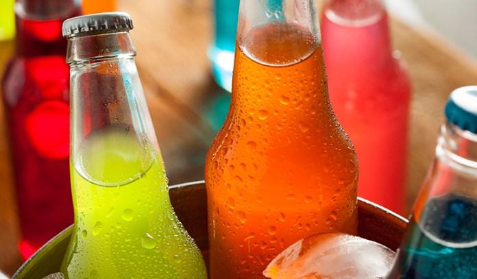 Soft drinks corrode the enamel.
