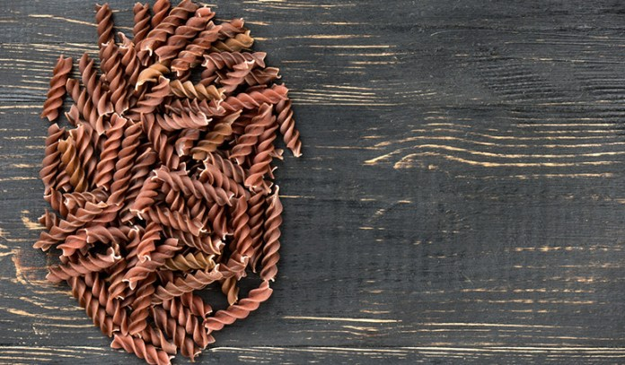 Spelt pasta is high in protein and fiber, but is not completely gluten-free.