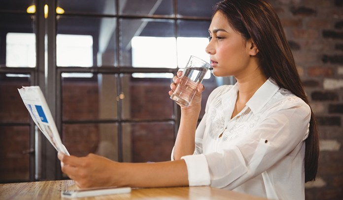 Drinking more water can help you concentrate better
