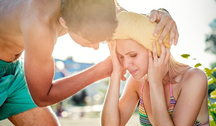 Excessive sweating, heat cramps, rapid heartbeat, and acidity are symptoms of excess body heat